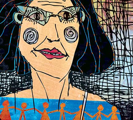 digital collage illustration by Limor Farber