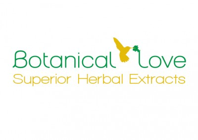 Logo: botanical love wordmark