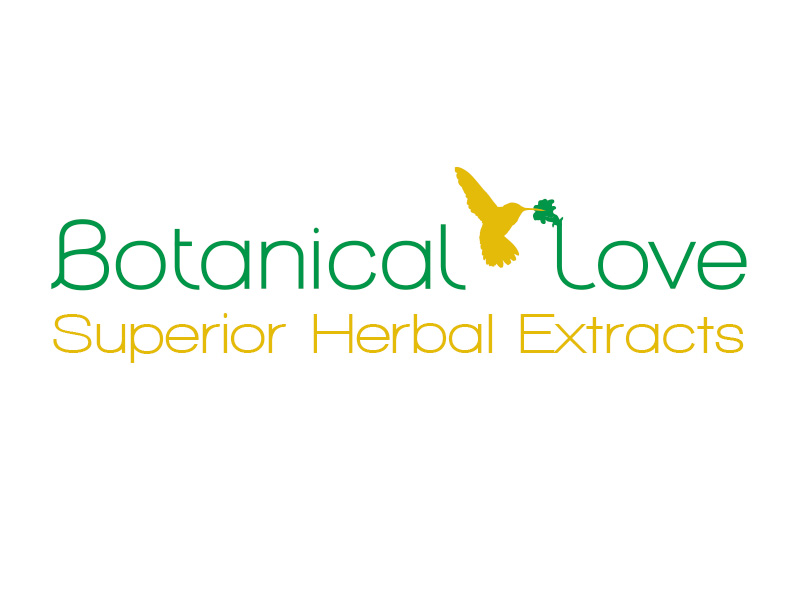 Logo: botanical love wordmark