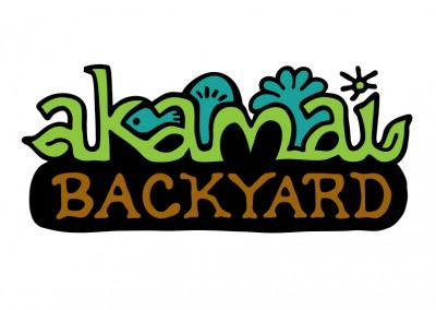 logo design: Akamai Backyard
