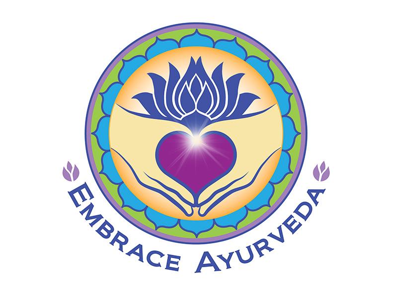 logo design: Embrace Ayurveda