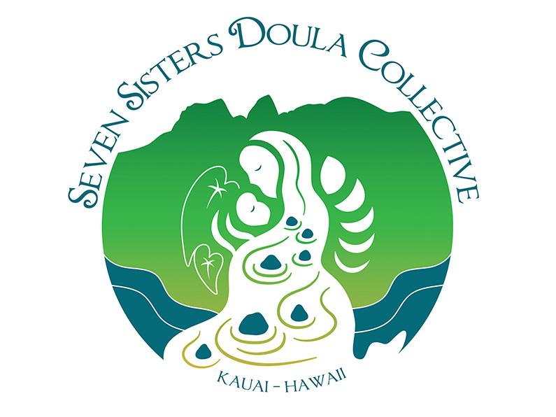 logo design: Seven Sisters Doula Collective