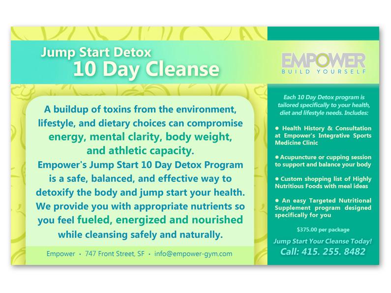postcard: Empower detox