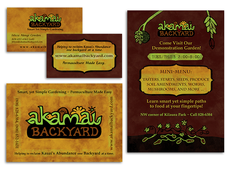 Print Collateral: Akamai Backyard