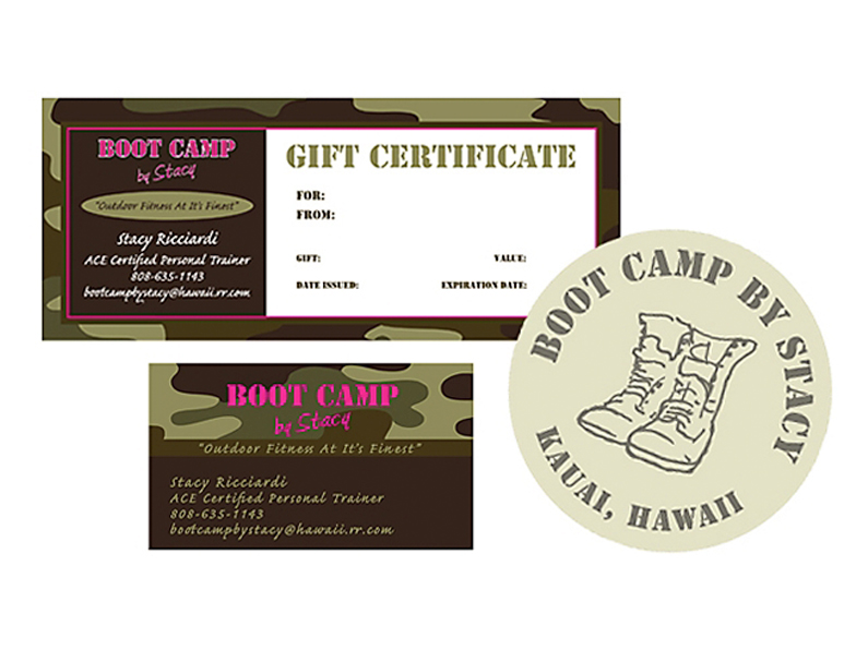 gift certificate: Bootcamp Fitness