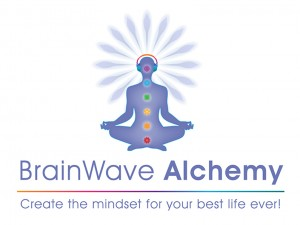 BrainWave Alchemy logo white