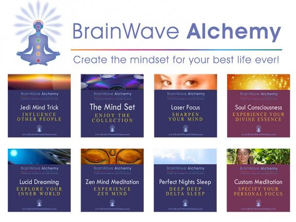 BrainWave Alchemy Album Art