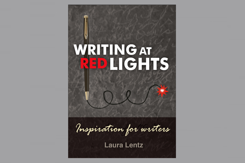 Writing at Red Lights by Laura Lentz - book design by Limor Farber Design Studio