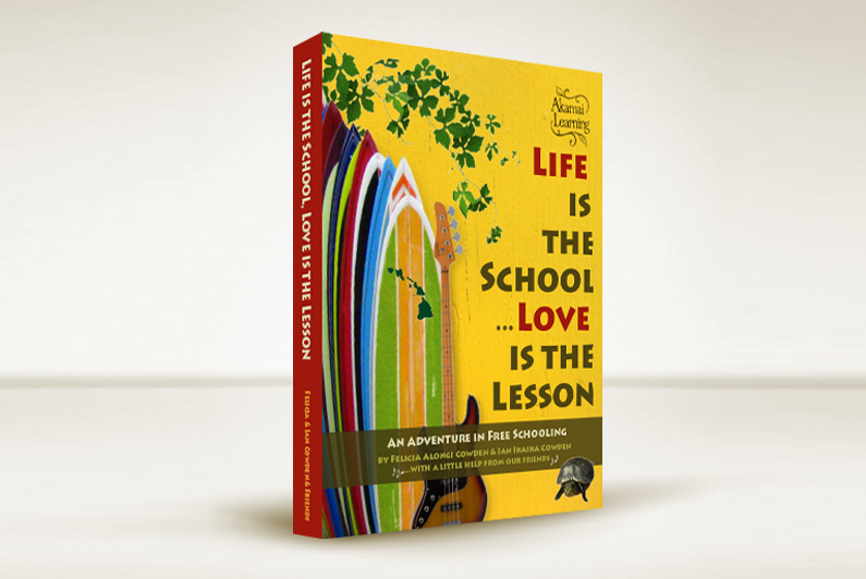 Life is the School Love is the Lesson - book design by Limor Farber Design Studio