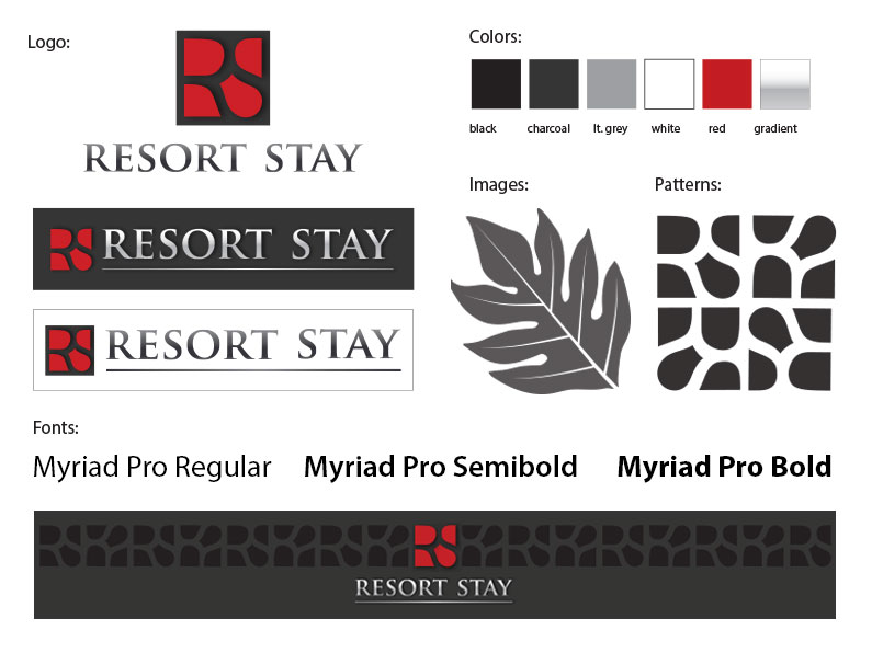 Resort Stay | style guide