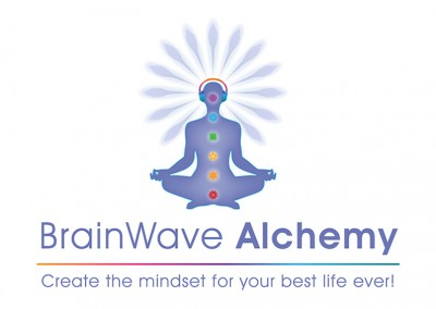 Brainwave Alchemy | logo by Limor Farber Design Studio